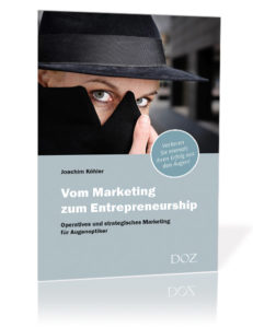 Vom Marketing zum Entrepreneurship - Buch Jochim Köhler